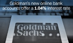 You can now open a Goldman Sachs account with $1