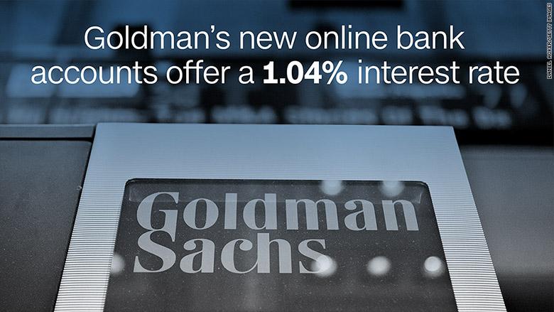 Goldman sachs forex trading account