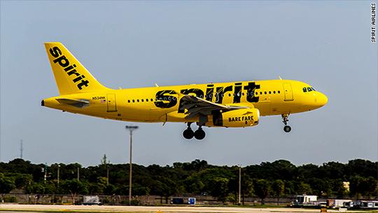 Spirit Airlines scores dead last in customer satisfaction