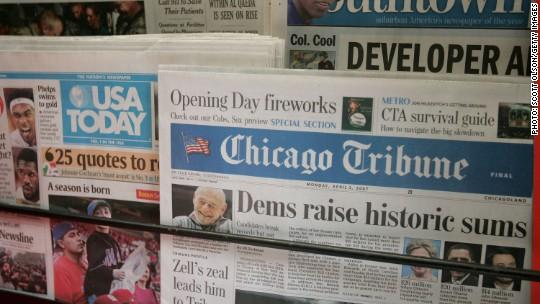 Tribune rejects Gannett offer, announces L.A. Times expansion