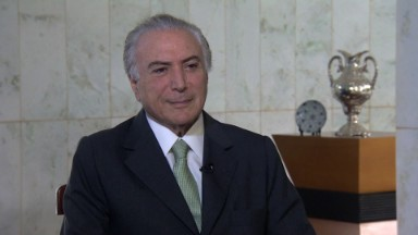 CNN Exclusive: Brazilian VP Michel Temer speaks out