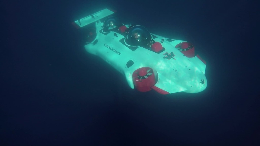 Personal submarine brings ocean exploration to all