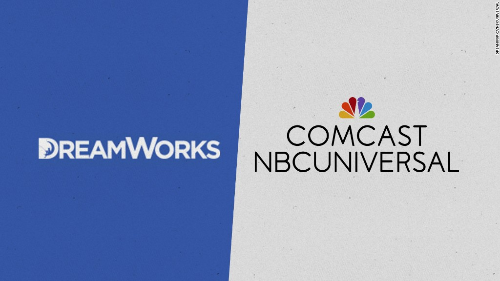Comcast is buying DreamWorks Animation