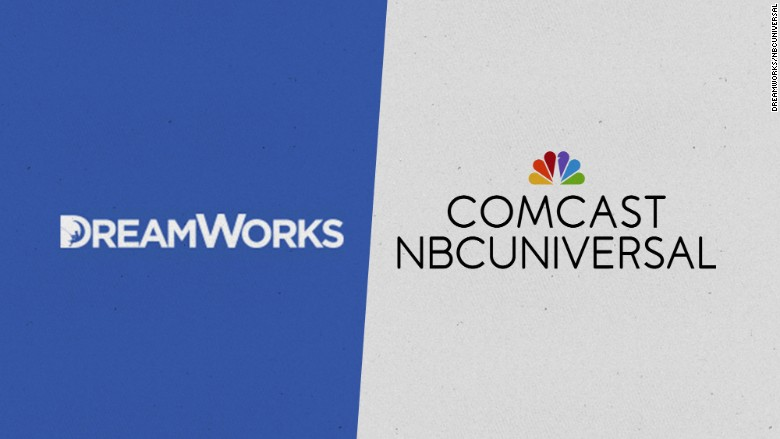 comcast buys dreamworks animation in 38 billion deal
