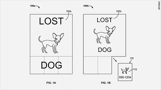 Google patent reveals screens you can rip