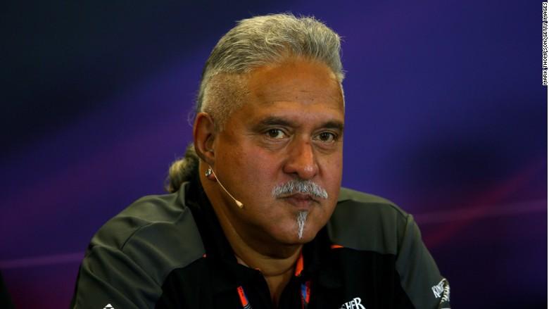 vijay mallya f1