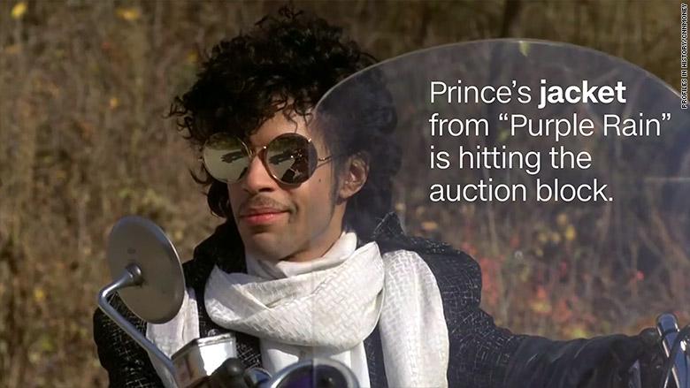 prince jacket text
