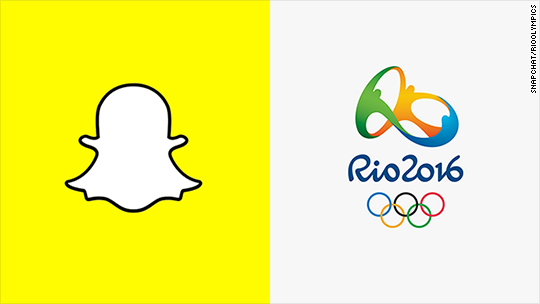 NBC partners with Snapchat for Rio Olympics 'live stories'