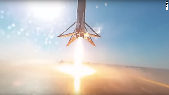 Watch SpaceX's 360˚ video of rocket landing on a barge
