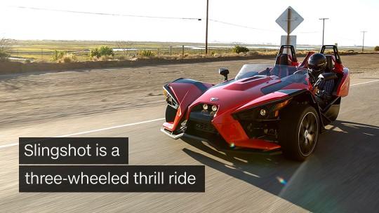 3 wheel thrill ride