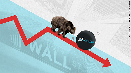 Another bear market for tech stocks?