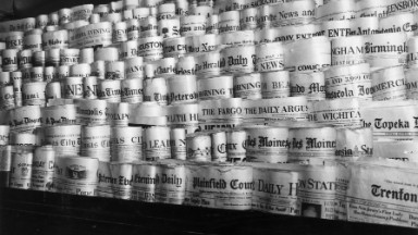 The storied history of newspapers