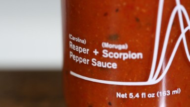 We tasted (and regretted) scientifically engineered hot sauce