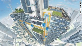 Maglev Multi elevator