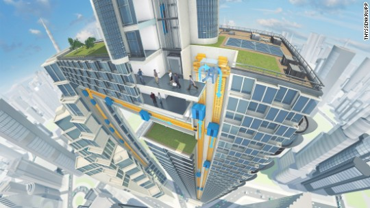 This elevator could shape the cities of the future
