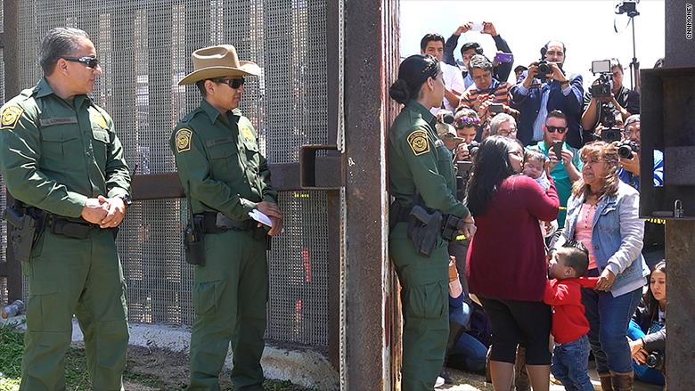 After 9yrs, family reunites at U.S.-Mexico border
