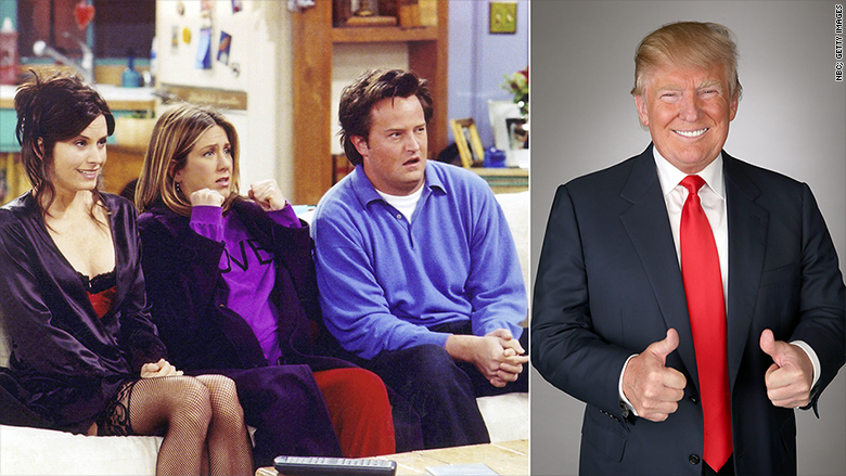 nbc friends apprentice trump