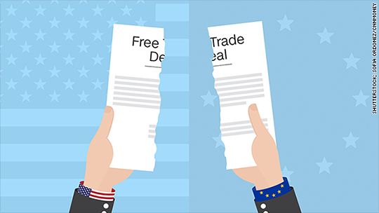 America's free trade deal with Europe is dying