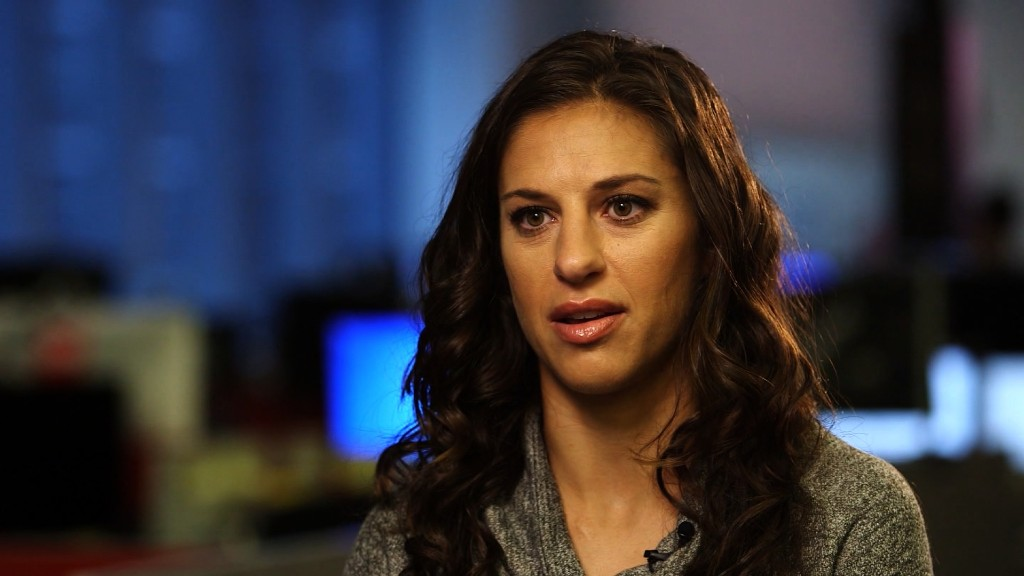 Carli Lloyd: 'We want to get paid what we deserve'