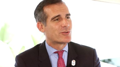 L.A. Mayor: Trump on the 'wrong side' of history
