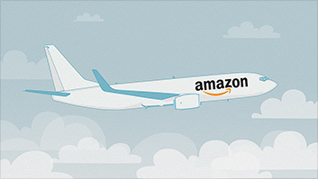 Wheels up! Amazon is investing in airplanes