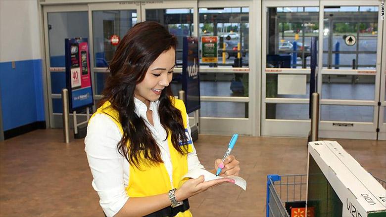 Walmart brings back its greeters