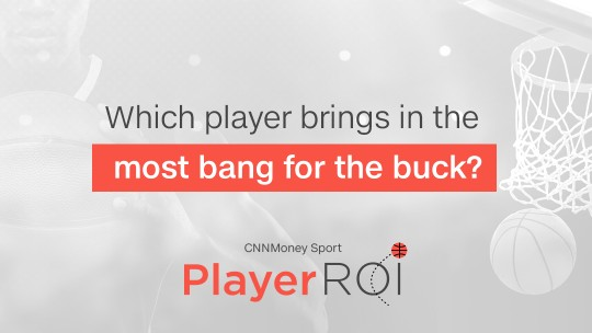 A new way to follow sports: Player ROI