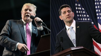 Why Trump and Ryan are like two pit bulls that will nuzzle