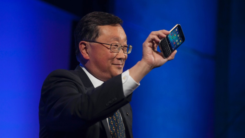 Blackberry CEO: The smartphone market is saturated