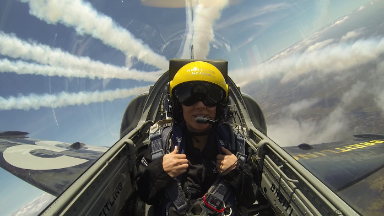 Insane perk for buying a watch: free ride in a fighter jet