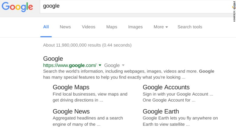 google search results google is experimenting with the ...