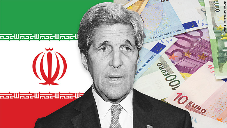 john kerry iran euros