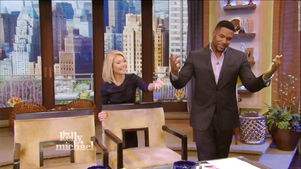 The best of Michael Strahan's last day on 'Live'