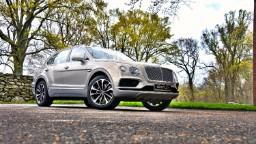 Driving Bentley's new SUV