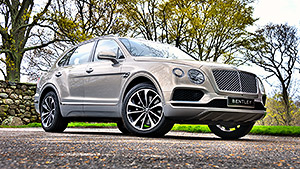 Testing Bentley's new SUV