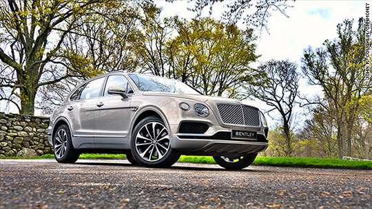 Driving Bentley's new SUV