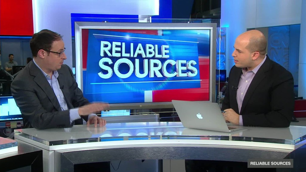 Nate Silver describes rivalry in election coverage