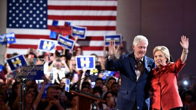 The Clintons earn most of their money from paid speeches