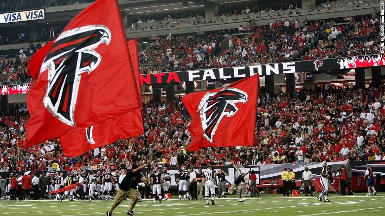 Atlanta Falcons New Stadium Will Offer Hot Dogs And Beer - Atlanta falcon us fan map
