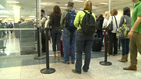 Airport delays could get worse with Memorial Day travel