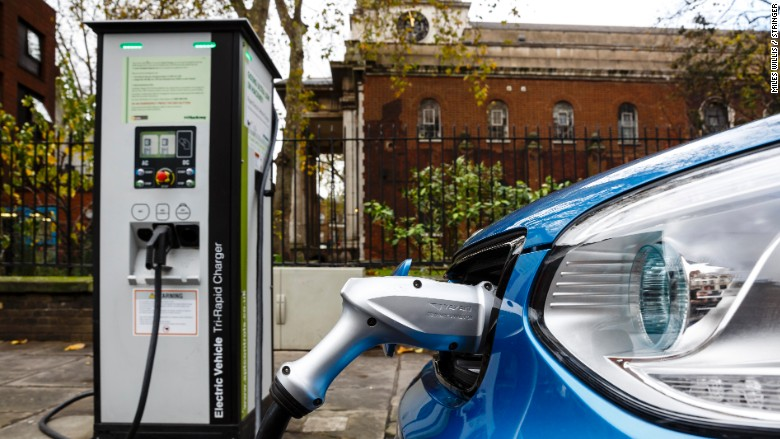 batteries electric car charging