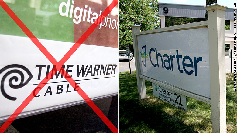 Bye, bye Time Warner Cable. Hello Charter - May. 18, 2016