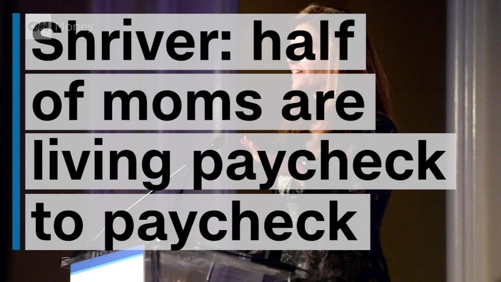 Maria and Mark Shriver: Over 50% of moms are living paycheck to paycheck