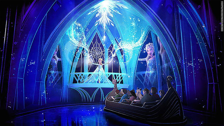 'Frozen' ride to open at Walt Disney World next month