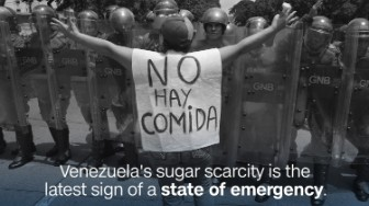 venezuela sugar scarcity