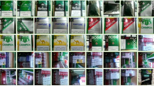 These pics of cigarettes could set economic policy