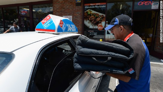 Domino's sued for underpaying its staff