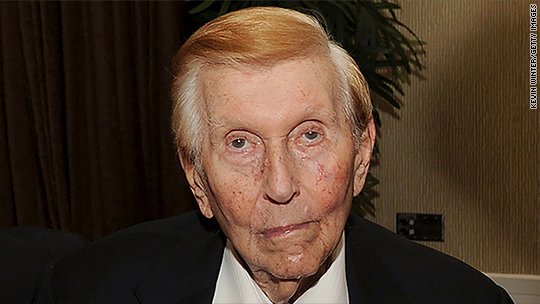 Sumner Redstone tells Viacom CEO effort to stay on board is futile