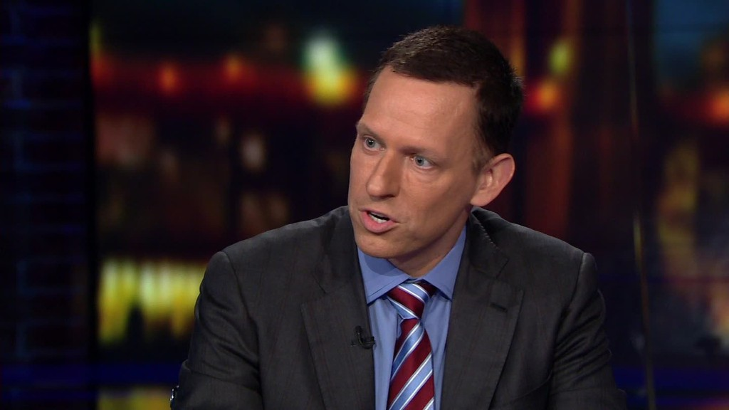 Peter Thiel: College diploma is a dunce hat in disguise