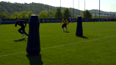 Pittsburgh Steelers' robot is making football safer